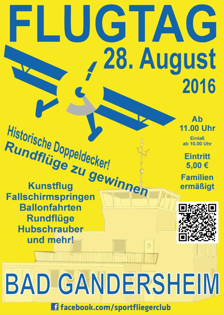 Flugtag-Plakat DRUCK
